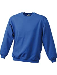 JAMES & NICHOLSON Sweat-shirt lourd (4XL, royal)