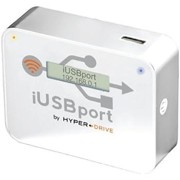 Sanho WiFi USB-Host Wireless Cloud-Adapter für Apple iPad/iPhone und Android weiß