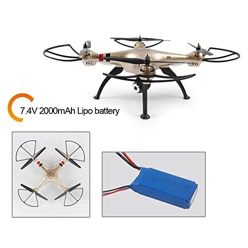 Syma X8HW (aggiornamento del popolare Syma X8W) 2.4GHz 6-Axis Gyro Wifi FPV con la macchina fotografica HD RC Quadcopter Drone (X8HW) - 6