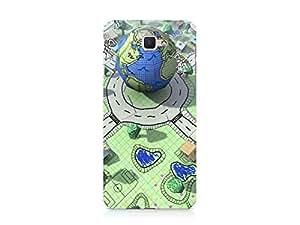 Hamee Designer Printed Hard Back Case Cover for Samsung Galaxy On Max Design 5049