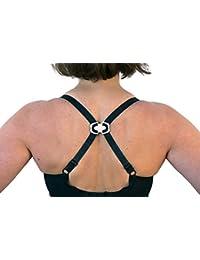 FASHION FIRST AID: Strap Trap: BH-Träger-Clips Antirutsch-BH-Halter Push-Up-Wirkung 3 Stück