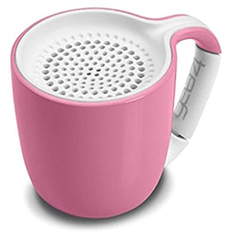 Gear4 Espresso Cup Portable Wireless Universal 3.0 Bluetooth Speaker (Pastel Pink)