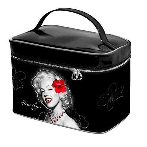 Marilyn Monroe - Flowers - Vanity Case, 1er Pack (1 x 280 g) (Tasche Handtasche Vanity Case)