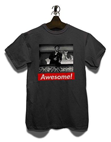 Awesome 61 T-Shirt Grau