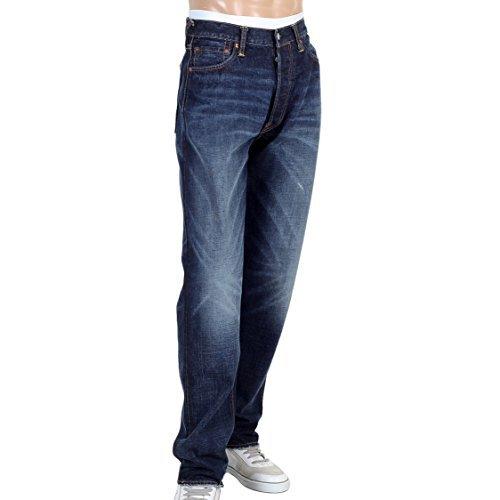 Evisu Jeans diacock Dark Stone Wash Jean evis1689 Gr. 44, blau