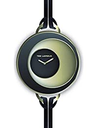 Ted Lapidus - A0570PNNN - Montre Femme - Quartz Analogique - Cadran - Bracelet Cuir Noir