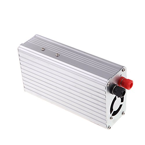Evertrust (TM) 1200W Watt DC 12V to AC 220V Portable Car Power inverter Adapter charger converter Transformer