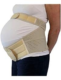 superior Cinturino doppio Gravidanza sostegno cintura back postura sostegno S - XL disponibile - Small: Hip size 81-96cm (32''-38'')