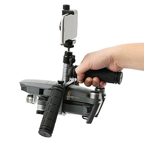FOTOWELT Cinema Tablett, Aluminiumlegierung Handheld Gimbal Stabilisator Halterung für DJI Mavic Drone