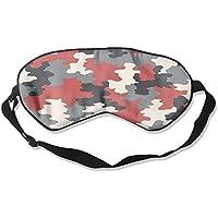 Red Camouflage Camo Art Sleep Eyes Masks - Comfortable Sleeping Mask Eye Cover For Travelling Night Noon Nap Mediation... preisvergleich bei billige-tabletten.eu