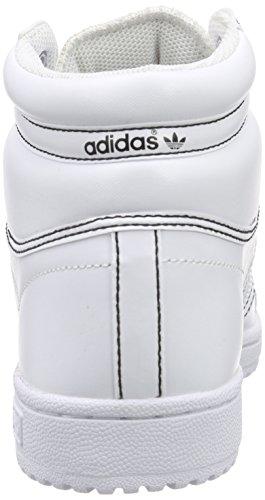adidas Originals Herren Top Ten Hi Hohe Sneakers Weiß (Ftwr White/Ftwr White/Ftwr White)