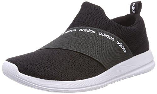 adidas Damen Cloudfoam Refine Adapt Fitnessschuhe, Schwarz (Core Black/Carbon S18/Ftwr White Core Black/Carbon S18/Ftwr White), 40 EU