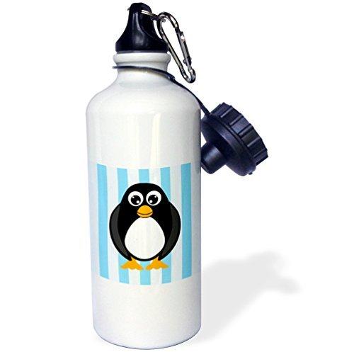 statuear-mignon-pingouin-avec-rayures-en-aluminium-20-once-bouteille-deau-sport-600-ml-coffret-cadea