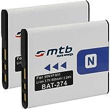 2x Batteria NP-BN1 per Sony Cyber-shot DSC-W710, W730, WX80, WX200...vedi lista!