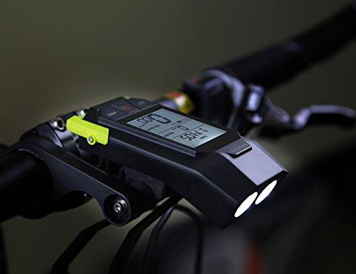Shanren® computer da bicicletta illuminazione a led per bicicletta