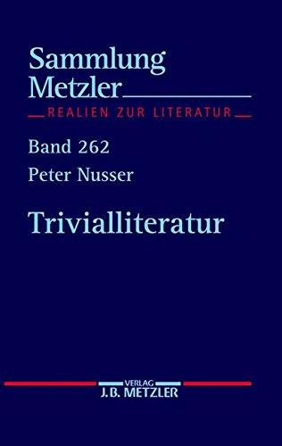Trivialliteratur (Sammlung Metzler)