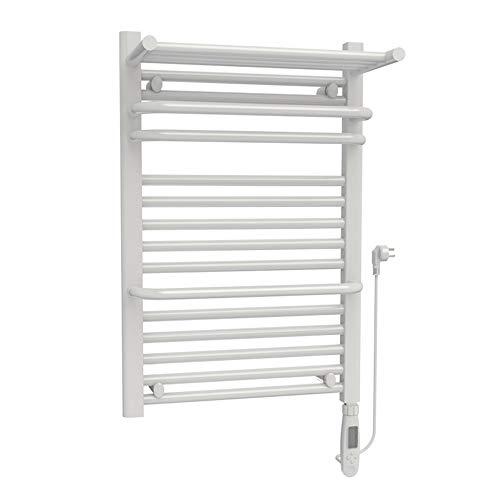 MIEDMJJ Elektrischer Handtuchhalter, intelligente Temperaturregelung Kohlefaser-Handtuchtrockner, wandmontierter energiesparender Temperatur-Badheizkörper/B / 50x74cm