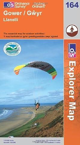 Gower, Llanelli (OS Explorer