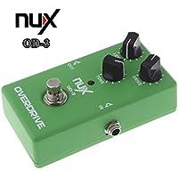 Unory (TM) Vendita calda! NUX OD-3 Overdrive elettrica effetto della chitarra pedale di Ture Effect Bypass verde di alta qualit¨¤ della chitarra Pedal