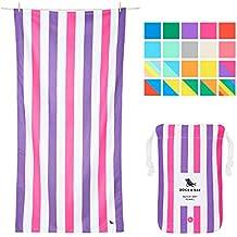 Dock & Bay Toallas de Microfibra para Playa y Viajes   Summer - Rosado & Purpura