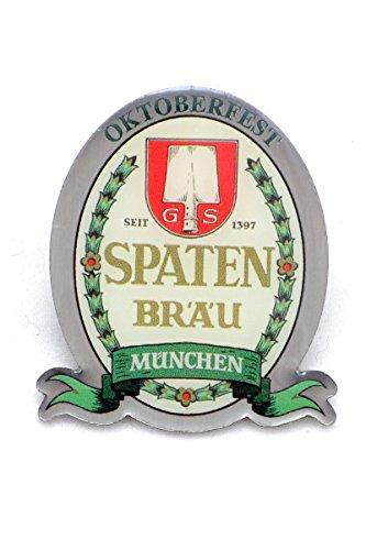 Spaten Wiesnpin 2014, Silberfarbene Anstecknadel zur Tracht, Sammler Edition