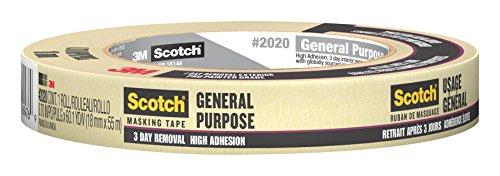 Scotch 2020–36a-cp Abdeckband, 2020-.75A