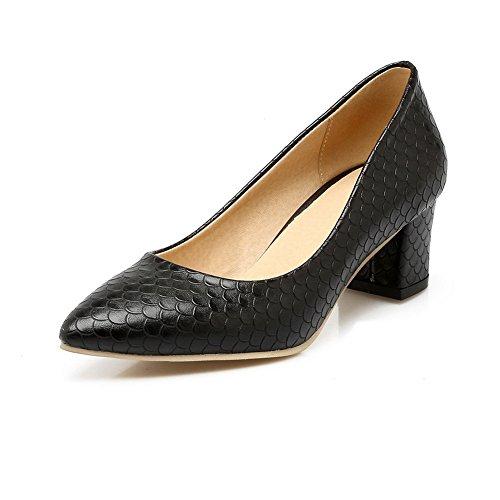 Balamasaapl10364 - Sandales Compensées Pour Femmes Noires