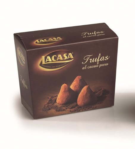 Preisvergleich Produktbild Chocolates lacasa Lacasa Pure Kakaotrüffel,  Box 200 gr