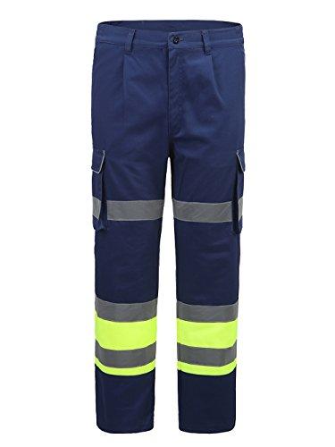 AYKRM Pantalon de sécurité Travail