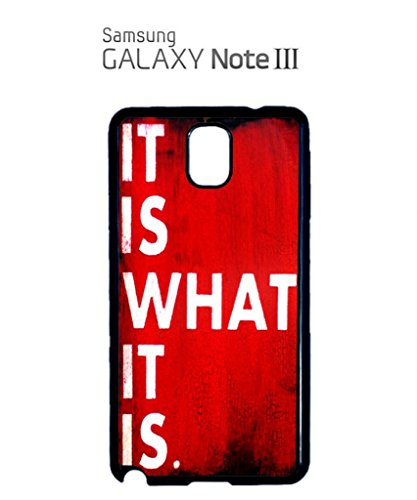 it is What it is Retro Sign Cell Phone Case Samsung Galaxy S5 Mini Black Blanc