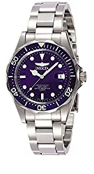 Invicta Pro Diver Unisex Analogue Classic Quartz Watch With Stainless Steel Bracelet – 9204