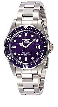 Invicta Pro Diver Unisex Analogue Classic Quartz Watch With Stainless Steel Bracelet – 9204 0