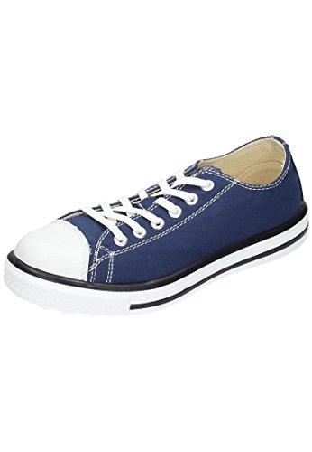Sicherheitsschuhe Leder, Schnuerschuhe blau 640898-5 blau