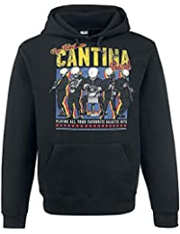 Star Wars Cantina Band On Tour Jersey con Capucha Mujer Negro