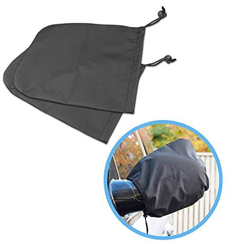 EarthSafe® Auto-Außenspiegel Schneedecke Set, ein Paar Auto Exterior Zubehör Rückspiegel -Schutz-Abdeckung von Schnee / Eis / Frost - Lücke Kordelzug