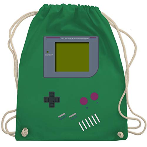 Nerds & Geeks - Gameboy - Unisize - Grün - WM110 - Turnbeutel & Gym Bag