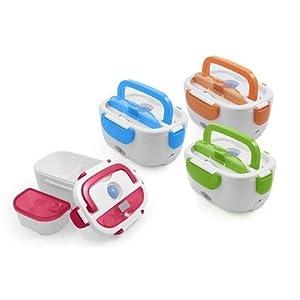 Scaldavivande Elettrico Portatile ideale per il pranzo in ufficio Portavivande Lunch Box Schiscetta elettrica Scaldino Portapranzo termico