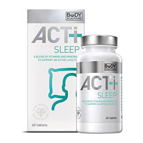 Erwachsenen-formel, 60 Tabletten (ACTI+ Sleep Multivitamin 60 Tabletten ideale Kombination Vitamine Mineralstoffe Unterstützung und Förderung gesunden Schlaf & Schlafrhythmus)