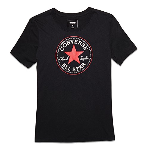 Converse Core Solid Chuch Patch Crew W T-shirt black