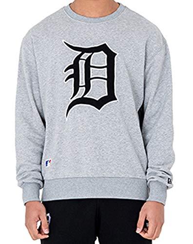 New Era Oversized Crewneck Sweater Detroit Tigers Post Grad Pack Light Grey (XXL) - Sweatshirts Nfl Cowboys Für Männer