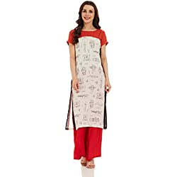 W for Woman Straight Kurta (17FE16733-58881_10_WHITE)