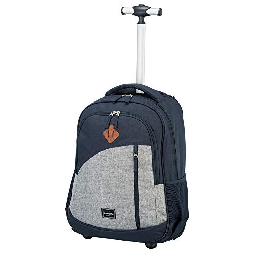 Travelite Basics 2-Rollen Rucksacktrolley 47 cm Laptopfach