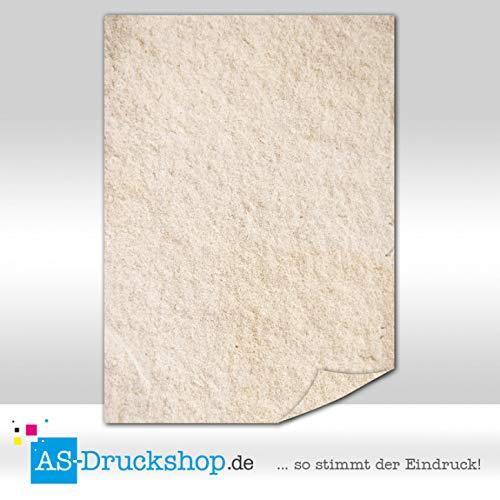 Papiro/pergamena–brauner putz/50fogli/din a5/90g di offset carta