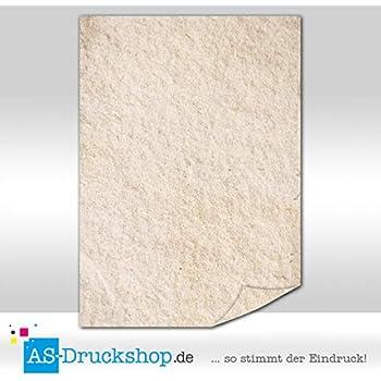 Papyrus 90 g-Offsetpapier 25 Blatt Pergament DIN A4 braune Struktur