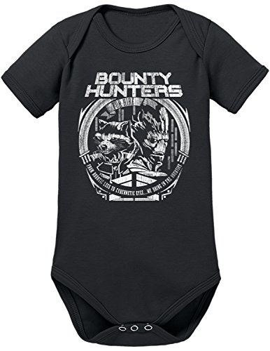 TLM Bounty Hunters Babybody 74 (Kopf Kostüm 8 Bit)