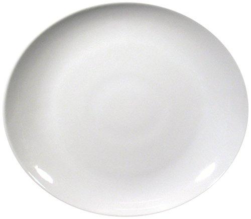 Saturnia Assiette à Steak, Tivoli, 30 cm, Blanc