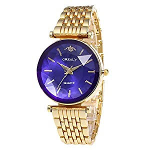 Giologre Uhren Damen Damen Armbanduhr-Set Armbanduhr-Armbanduhr-Diamant-Uhr-Art- und Weisezusätze