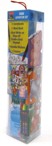 Fisher-Price Little People Animal Friends Adventure Set (Fisher Price Activity Tube) (Farm Animal Tubes)