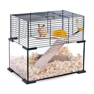 NO.1# HEALTHY LIVING  LITTLE RODENT CAGE, HAMSTERS, GERBILS, TWO LEVEL CAGE WITH FREE ACCESSORIES REVIEWSUK