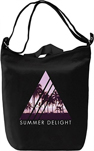 summer delight Leinwand Tagestasche Canvas Day Bag| 100% Premium Cotton Canvas| DTG Printing| (Delight Hipster)